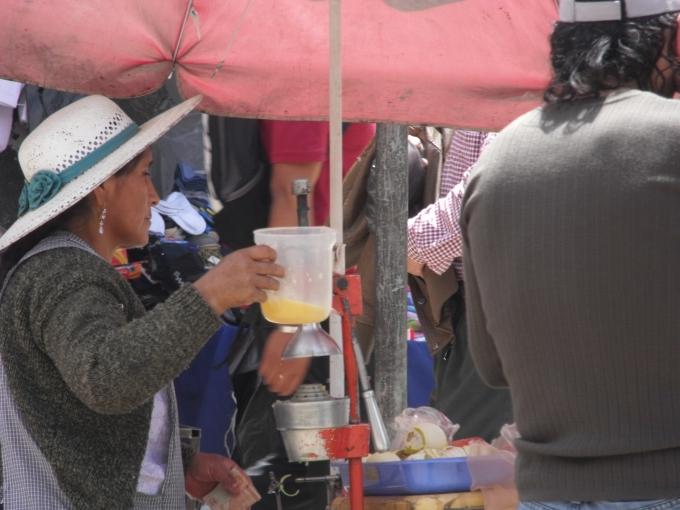 Fresh squeezed orange juice anyone?